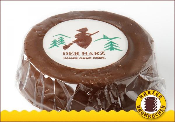 Baumkuchen Zartbitter Glatt - mit Dekoraufleger