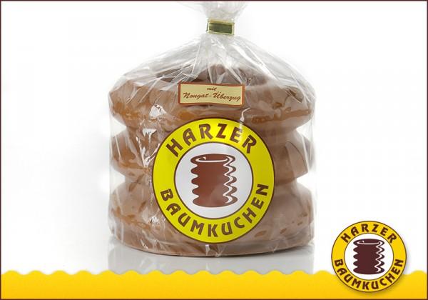 Baumkuchen mit Nougat-Überzug 3er Ring